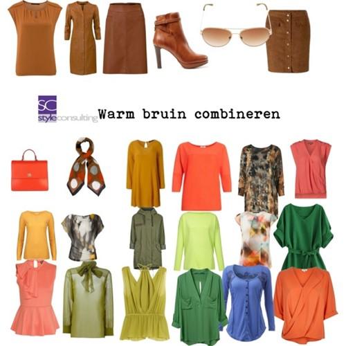 combineren met de kleur bruin. colour me beautiful. | style consulting