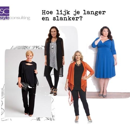 Hoe kun je langer en slanker lijken? | Style Consulting