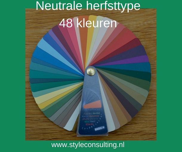 Een neutraal herfsttype met grijs haar. | Style Consulting