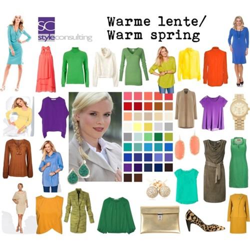Informatie kenmerken kleren kleuren make up lentetype style consulting - Kleuridee voor een gang ...