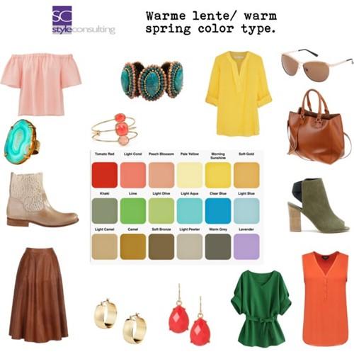 Informatie kenmerken kleren kleuren make up lentetype style consulting - Koele kleuren warme kleuren ...