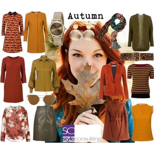 kenmerken kleding make-up kleuren metalen warme herfsttype ...