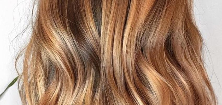 Voorbeelden van haarkleuren voor het lente/herfsttype ...