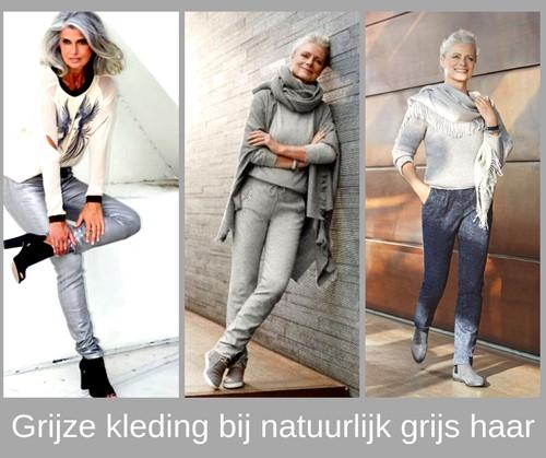 Fonkelnieuw Heb je grijs haar? Draag dan eens grijze kleding!   Style Consulting CL-03