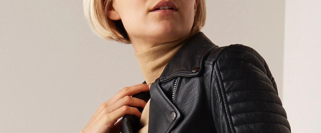 Een leren jasje voor elk stijltype. | Style Consulting