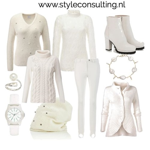 Witte Kleding.Witte Kleding In De Winter Kleur Wit In De Winter Style Consulting