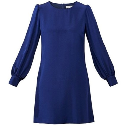 Draag eens een little blue dress!
