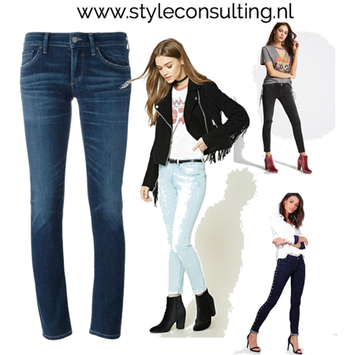 Low rise jeans/ lage taille.