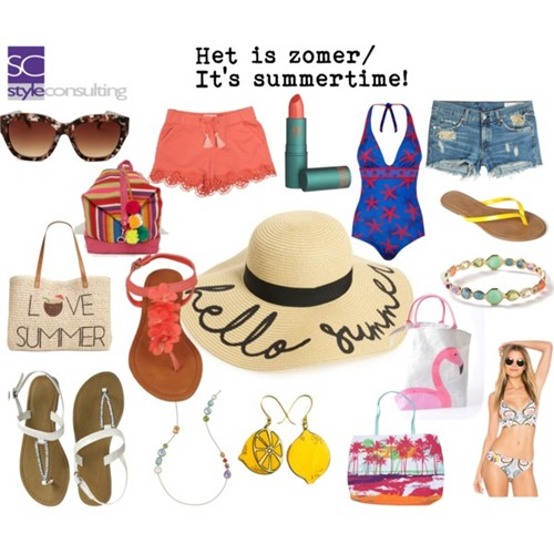 Hoe maak je een zomerse outfit?