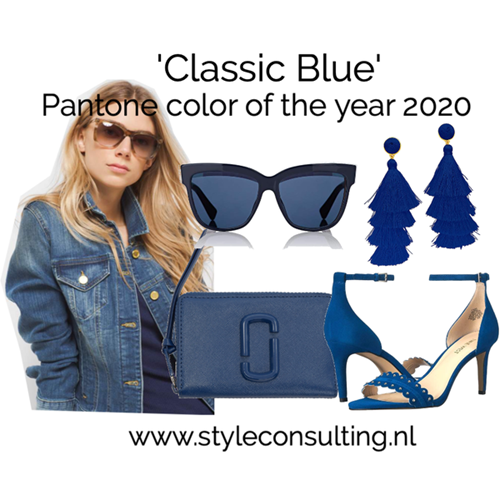 Pantone 'Classic Blue' color of the year 2020.