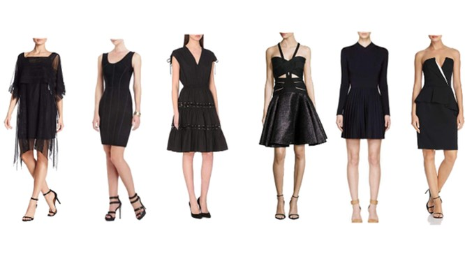 Hoe style je een 'little black dress'?